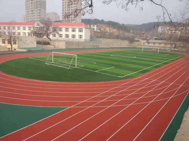 中国教育基金会赞助240万元 旅顺口区二所学校操场竣工使用